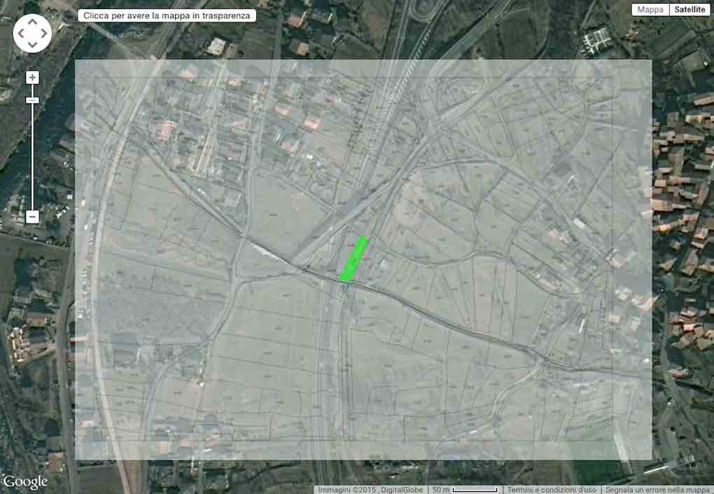 Mappe Catastali Online Su Google Earth E Ortofoto